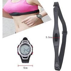 Pevor Fitness Pulse Heart Rate Monitor Watch