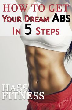 How To Get Your Dream #Abs in 5 Steps | By: @hassfitness