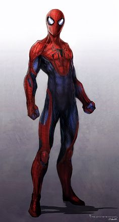 Concept art for the Amazing Spider-Man by Jerad Merantz