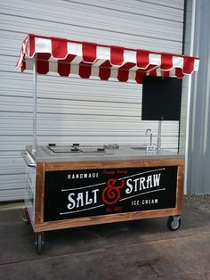 Custom Ice Cream Cart More