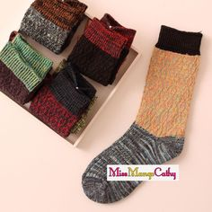"""""""Long Hair"""" 5 Pairs Womens Girls Socks Cotton Knit Cozy Fuzzy Warm Casual Socks #Unbranded #Casual"""