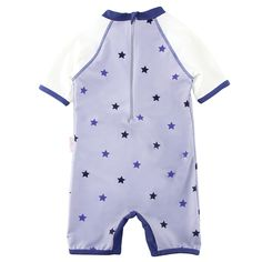 UV Baby Girl Sun Protection Swimwear Kids One Piece Swimsuit Striped Dot Beach Sport Bathing Suit 0-5 Years UPF 50