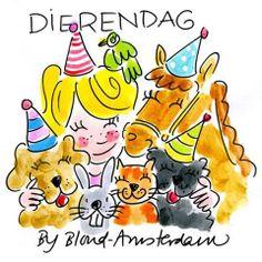 blond amsterdam. Dierendag