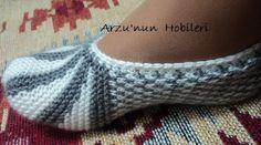 Arzunun Hobileri: Örgü patik modeli ve yapılışı...