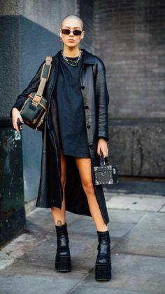 Black Women Fashion, Womens Fashion Online, Latest Fashion For Women, Look Fashion, Autumn Fashion, Fashion Mode, Japan Fashion, Fashion Basics, Classy Fashion