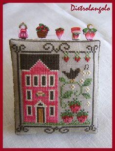 Lovely ornament/mini pillow
