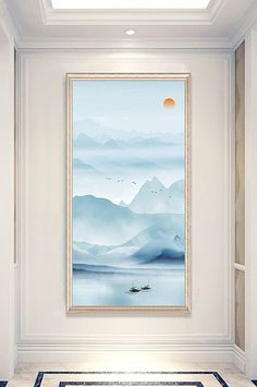 New Chinese style fairy landscape decoration painting porch design New Chinese, Chinese Style, Clear Business Cards, Day Runner, Wedding Stage Design, Deer Illustration, Minimalist Business Cards, Halloween Backgrounds, Entrance Design