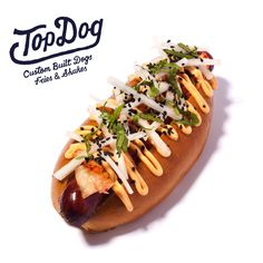 Our Kimchi Dog's got it goin' on. Spicy Kimchi, free range beef dog, coriander, radish and spicy mayo. Can we get an 'mmm'?