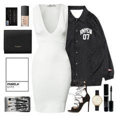 """""""Vices"""" by demirese ❤ liked on Polyvore featuring Oh My Love, NARS Cosmetics, Yves Saint Laurent, Gianvito Rossi, PAM, Olivia Burton and Bobbi Brown Cosmetics"""