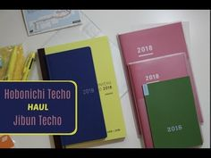 COOL Stuff down here.... So excited to get my hands on the 2018 Hobonichi Cousin Avec and the Jibun Techo A5 and B6 slim. Which should I do a full review on ...