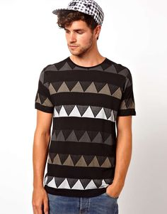 Love the boxfresh Boxfresh T-Shirt Knitted Triangle on Wantering | $44 | sale price | Boxing Week for Him | mens t shirt | mens tee | menswear | mens style | mens fashion | wantering http://www.wantering.com/mens-clothing-item/boxfresh-t-shirt-knitted-triangle/ade3R/