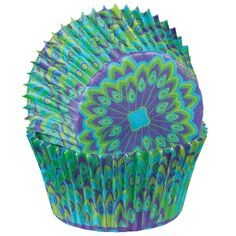 Standard Baking Cup, Peacock  75 ct