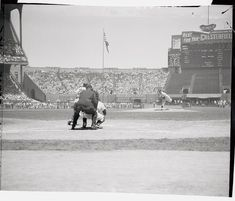 July 1954 at Cleveland Municipal Stadium: Yankee Hall of Famer, Whitey Ford delivers the first pitch of 1954 All Star Game. Baseball Park, Indians Baseball, Shea Stadium, Yankee Stadium, Sports Stadium, Stadium Tour, Candlestick Park, Baseball Equipment, Washington Nationals