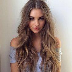Long wavy hair goals