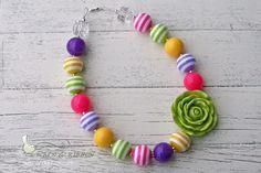Pop of Color necklace| Wren & Ribbon
