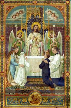 TRANSUBSTANTIATION After treating the subject of the Abiding Presence, another essential dogma of the Catholic Faith naturally presents...