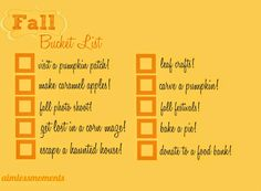 Fall is here! #1stdayoffall #fall #bucketlist #thingstodo #list #firstdayoffall