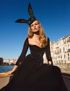 Anna Ewers Stuns in Haute Couture Gowns for Vogue Paris - Page 2 of 2