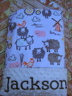 Blanket, Baby Gift, Baby Shower Gift, Personalized Baby Blanket, Baby Blanket, Blanket, Girl Blanket, Minky Blanket, Embroidered by PreciousLoveDesigns on Etsy https://www.etsy.com/listing/550237083/blanket-baby-gift-baby-shower-gift