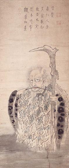 Hakuin Ekaku (1686-1769), The God of Medicine