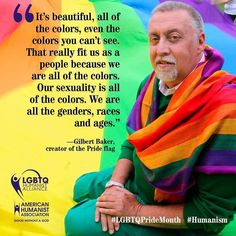 We're celebrating #lgbtpride! #pridemonth #lgbtqpridemonth #humanist #humanism #secular