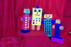 roboti din carton Console, Diy, Bricolage, Do It Yourself, Homemade, Roman Consul, Consoles, Diys, Crafting