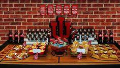 Basketball Theme: The Food Table