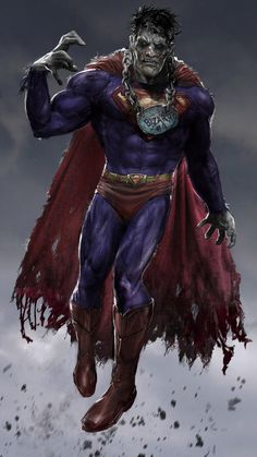 One of the DC pantheon that provided a rare challenge - balancing the scary monster with the sympathetic beast - Bizarro. Too easy to just go monstrous so I'm holding back here. Piece is definitely...