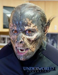 underworld lycans practical effects steve wang Prosthetic Makeup, Sfx Makeup, Special Makeup, Special Effects Makeup, Halloween Looks, Halloween Makeup, Underworld Lycans, Werewolf Makeup, Monster Makeup