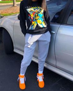 baddie outfits for high school Cute Lazy Outfits, Tomboy Outfits, Cute Swag Outfits, Chill Outfits, Tomboy Fashion, Dope Outfits, Teen Fashion Outfits, Teenage Outfits, Retro Outfits