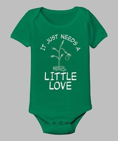 Take a look at this KidTeeZ Kelly Green 'It Just Needs a Little Love' Bodysuit - Infant on zulily today!