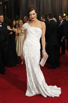 Red Carpet Report: Milla Jovovich in Elie Saab Couture and Jacob & Co.