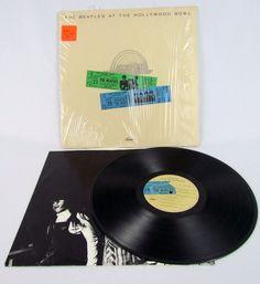 The Beatles At The Hollywood Bowl Vinyl LP Gatefold Shrink & Sticker…