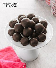 Boules de neige au beurre d'arachide #recette