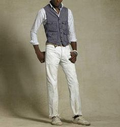 Don't be afraid to rock a vest/ waistcoat http://www.cefashion.net/sweater-vests-and-waistcoats #fashion #vests #advice #streetwear