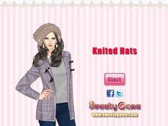 Ubierz dziewczynę w ciepłe ubrania. Obowiązkowo na głowie modelki musi się znaleźć czapka! http://www.ubieranki.eu/ubieranki/9712/welniane-czapki.html