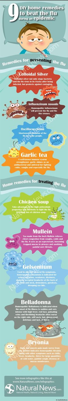 9 Do-it-Yourself Home Remedies to Beat the Flu During an Epidemic via topoftheline99.com