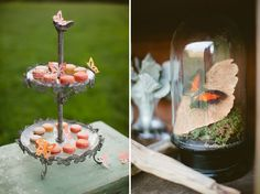 Butterfly themed wedding. Spring Wedding Inspiration: Nature as Science