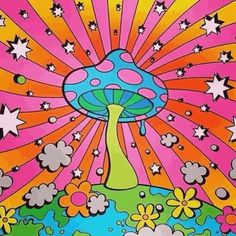 hippie painting ideas 774548835901665677 - Source by Psychedelic Drawings, Trippy Drawings, Art Drawings, Hippie Painting, Trippy Painting, Mushroom Drawing, Mushroom Art, Psychadelic Art, Doodle Art Drawing