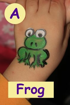 Cheek Face Painting Ideas | some of these have a LITTLE more detail, some are VERY simple