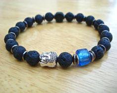 Men's Spiritual Tibetan Om Bracelet with Antique от tocijewelry