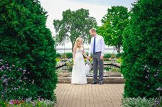 jeni+jacob's olbrich gardens outdoor wedding in madison by andy stenz - modern milwaukee and madison wedding photographer
