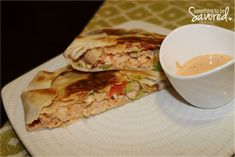Chipotle Chicken Crunch Wraps   Something to be Savored