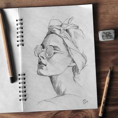 #sketch #pencil #female