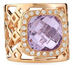 Roberto Coin Pink Amethyst & Diamond Ring, Size 7.5 - was $3210.0, now $2889.0 (10% Off). Picked by olga @ Last Call by Neiman Marcus