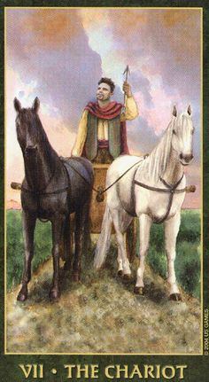 The Chariot - Forest Folklore Tarot