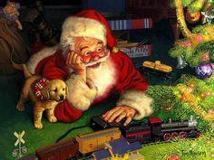"""Christmas Eve"" - art by Tom Newsom"