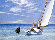 Edward Hopper-Ground Swell, 1939