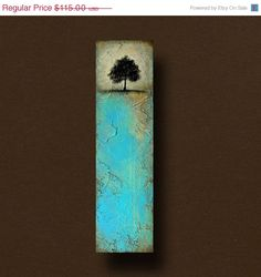 Beautiful Abstract Tree Textured Painting