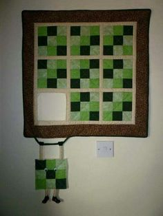 Love this quilt wall hanging!